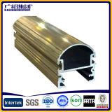 Preço dos perfis de alumínio de cor dourada industrial