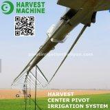 Sistema de irrigación de centro rotatorio del pivote del agua de la agricultura