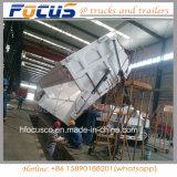 Tre assi rimorchio pratico del camion dello scaricatore del ribaltatore del lato da 70 tonnellate per trasporto della ghiaia