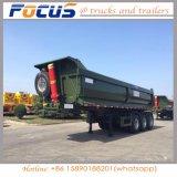 반 30cubic Cimc 세 배 차축 판매를 위한 후방 팁 주는 사람 덤프 트럭 트레일러