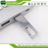 Rotação de metal promocional Unidade Flash USB com o logotipo personalizado