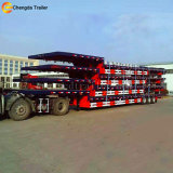 3axles 60 rimorchio basso della base dei tri assi di tonnellata 60ton