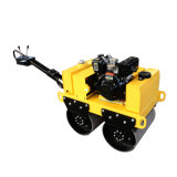 Vibratorio de tambor doble Road Roller