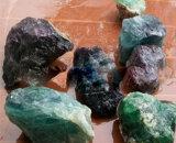 Самый лучший фторит кальция блока Fluorspar CaF2 шахт 80%