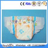 極度の心配OEMの使い捨て可能で速い乾燥した、柔らかい表面の赤ん坊のおむつ