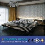 El nuevo panel de pared del MDF de la decoración interior del hogar del diseño 3D