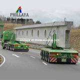 Hochleistungsrohr-Brücken-Träger-Schleppseil-LKW-halb hydraulischer Transportwagen-Träger-Schlussteil