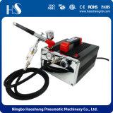 Het beste verkoopt de Compressor van het Luchtpenseel van het Krijt van de Kleur van het Haar van China Lution
