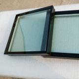فائقة رقيقا [5مّ95مّ] عادية شفّافة يقسم ألواح مزدوجة زجاجيّة