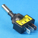 ランプが付いているPCBの12Vによって照らされる自動車スイッチ
