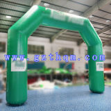 0.6mm Thickness PVC HD Inkjet Inflatable Arch für Sport Anfang und Finish Display
