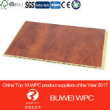 Compuesto de plástico madera Panel de pared Inteiror WPC el panel de pared