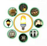 LED Flame Bulb AC85-265V 7.5W Gravity Sensor Flame Mode