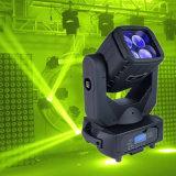 Pista móvil de la viga LED de la iluminación 4*25W RGBW 4in1 de la etapa