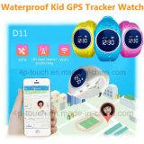 WiFi+Lbs ягнится вахта отслежывателя GPS с кнопкой D11 Sos