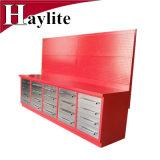 Cajón de cajas de herramientas de llenar armarios garaje de acero Workbench