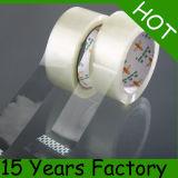テープ18年の工場ゆとりのパッキング、付着力のパッキングテープ