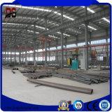 Armazém claro Prefab de aço da construção de aço da seção Q235