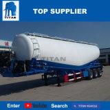 A Titan Veículo eixo triplo Silo de cimento a granel caminhão com 40m3 Trailer de cimento a granel