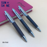 De Balpen van het Leer van het Metaal van de Pen van de Luxe van de Kantoorbehoeften van het bureau