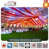 Tenda calda della parte superiore del tetto della radura della portata di vendita 25m per il partito corporativo esterno di evento