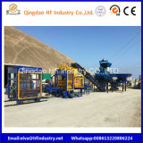Qt5-15 bloc de béton de ciment Ligne de production de mousse de machine à briques