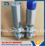Stainless Steel Hygienic Pneumatic Mixproof Valve with Control Signal