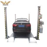 3700kg安く4つのコラム車の駐車揚げべら