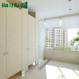 Jialifuのパブリックの便利なコンパクトの積層物の洗面所のキュービクル
