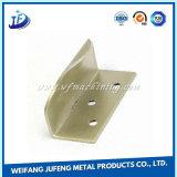 Proceso de fabricación de piezas de estampación de perforación de metal con el zincado