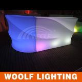 LED Bar Table PE Waterproof LED Furniture Bar Counter