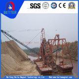 Draga da sução da areia de ISO9001 15depth/areia de ferro de escavação que escolhe a draga para o ouro