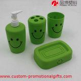 Großhandelsplastiklächeln-Gesichts-Gewebe-Kasten-Bad-Set