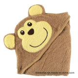고품질을%s 가진 100%년 면 아기 두건이 있는 목욕 수건/담요