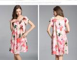 """Pijamas de seda por atacado da senhora """"sexy"""" Nightwear Mulher Printed 100% da forma"""