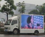 높은 광도 P16 이동할 수 있는 트럭 발광 다이오드 표시 위원회