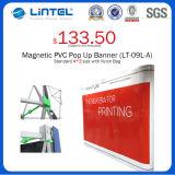 De vierkante Magnetische Tribune van de Banner van het Aluminium van de Buis duikt op (Lt.-09l-a)