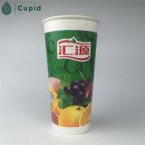 Prix de gros de gros de tasse de papier d'usine à mur unique de la Chine