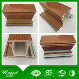 Guichet en bois de tente de PVC de couleur, guichet de tissu pour rideaux et guichet de glissement