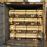 Np RP PK UHP de GrafietdieElektroden van de Koolstof van de Cokes van de Naald voor de Oven van de Elektrische Boog voor Verkoop worden gebruikt