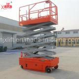 6-16m kundenspezifische Farben-Qualitäts-selbstangetriebene elektrische batteriebetriebene Aufzug-Plattform von den China-Herstellern