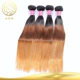 Remyの安い卸し売りバージンブラジルのまっすぐなカラー毛