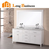 Apartment Modern Double Sink Bathroom Vanity Unit (LB-DD2112)