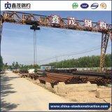 Amplia gama prefabricados de estructura de acero Estructura de acero para el taller con la certificación ISO