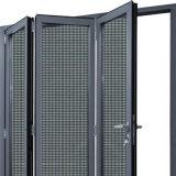 Puerta de plegamiento Puerta-Termal de aluminio de la rotura