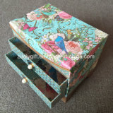 La impresión personalizada de tres capas de papel de embalaje de cartón Caja de regalo Regalo papel de cajones con espejo