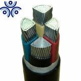 câble d'alimentation en aluminium isolé et engainé de PVC du faisceau 0.6/1kv 4