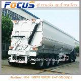 3개의 차축 70 톤 측 팁 주는 사람 쓰레기꾼 자갈 수송을%s 실용적인 트럭 트레일러