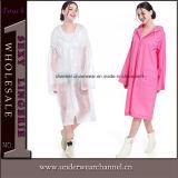 Impermeabile di nylon respirabile dell'indumenti impermeabili del poncio del vinile del poliestere di Non-Eliminazione adulta (SK-A305-1)