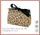 Full Color Printing Paper Shopping Bag with Emboss Logo